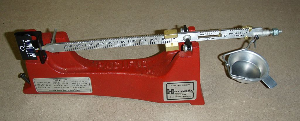 How To Modify A Powder Scale For Specific Gravity Testing