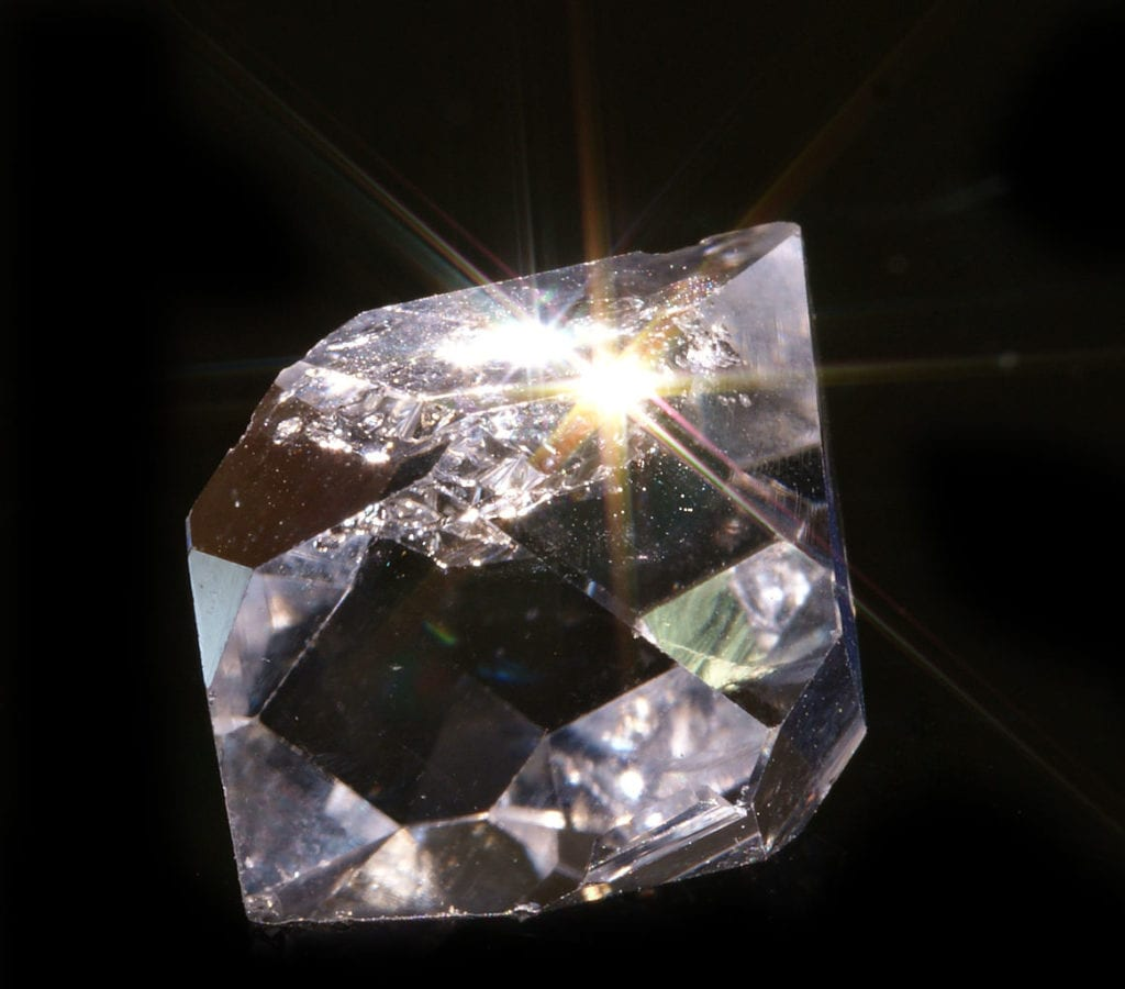 Herkimer diamond, NY - gem hunting in the US