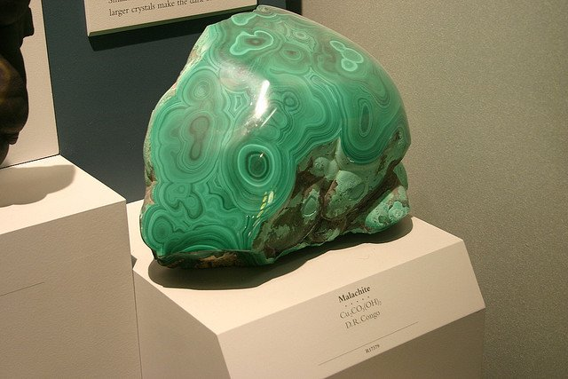 """Malachite"" by Ryan Somma is licensed under CC By-SA 2.0"