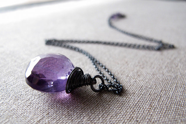 """Amethyst"" by Amelia Prayoga is licensed under CC By-ND 2.0"