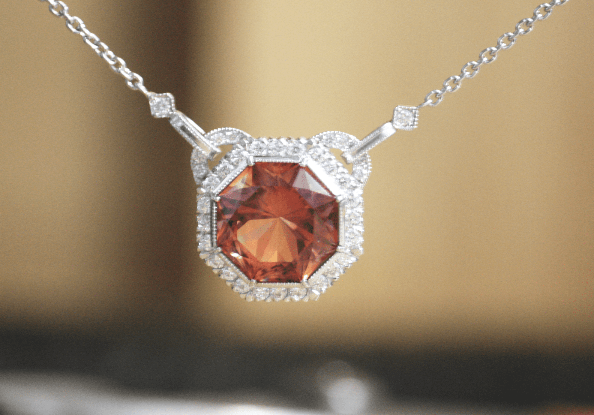 rose index store american society sunstone pendant necklace