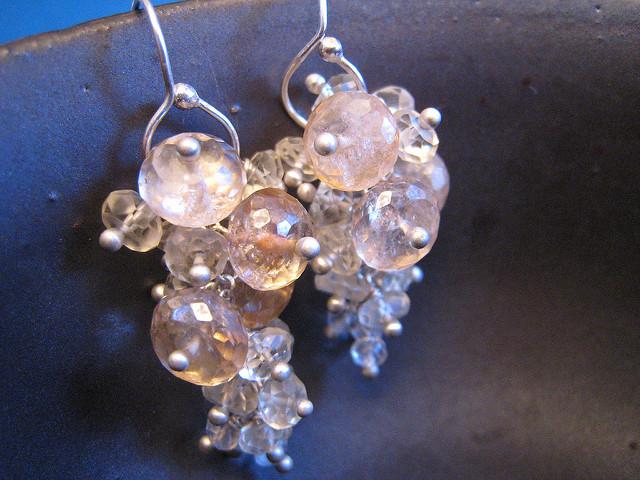 scapolite jewelry - earrings