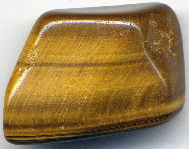 gemstone polishing survey - tiger's eye quartz