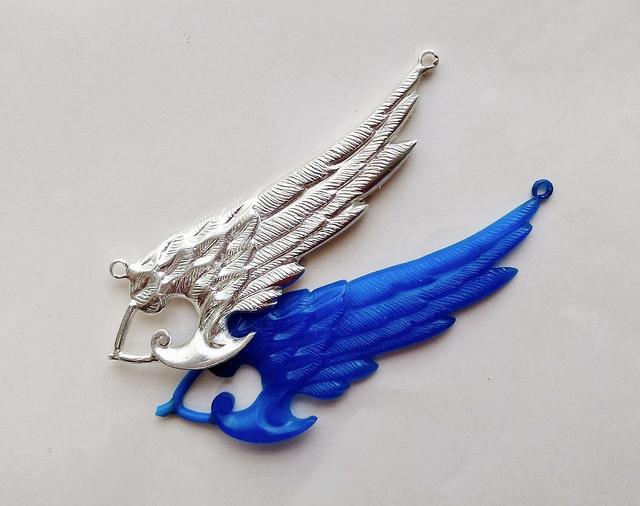 jewelry metals - silver pendant