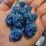 """Skulls!,"" wax models, by Jessa and Mark Anderson is licensed under CC By 2.0"