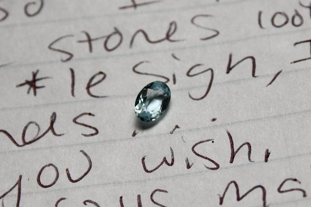 mailing gems - aquamarine