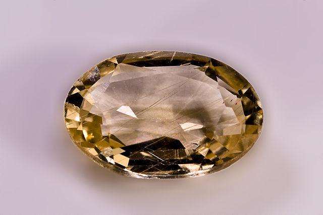 danburite - cut