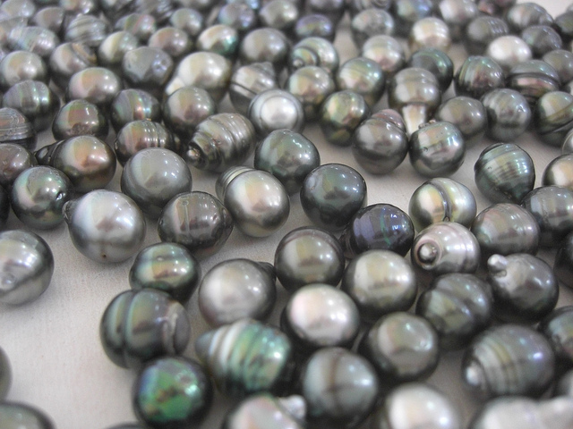 Cultured Pearls from Rangiroa, French Polynesia