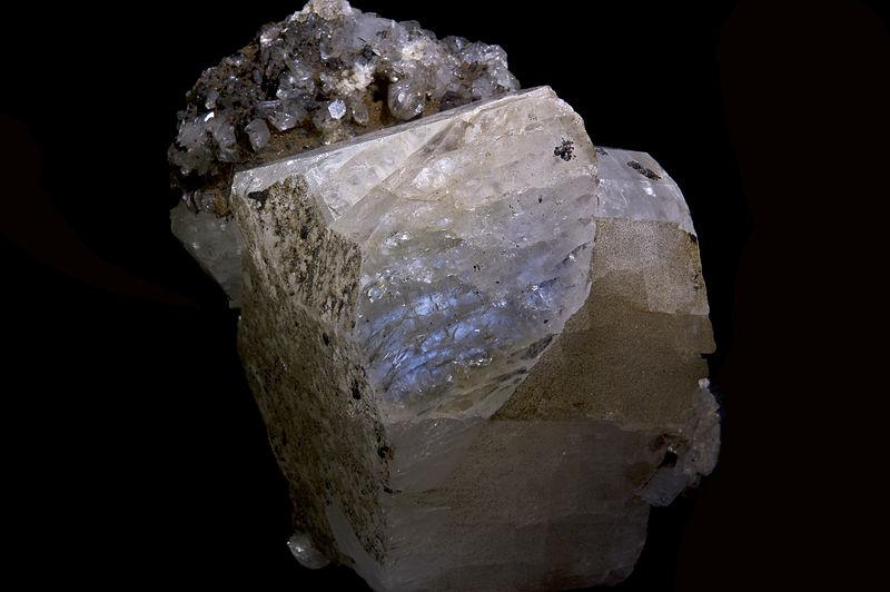 Swiss adularia crystal