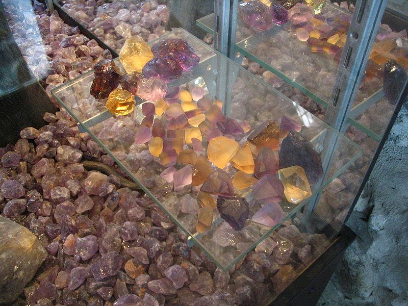 ametrines - National Mint, Bolivia