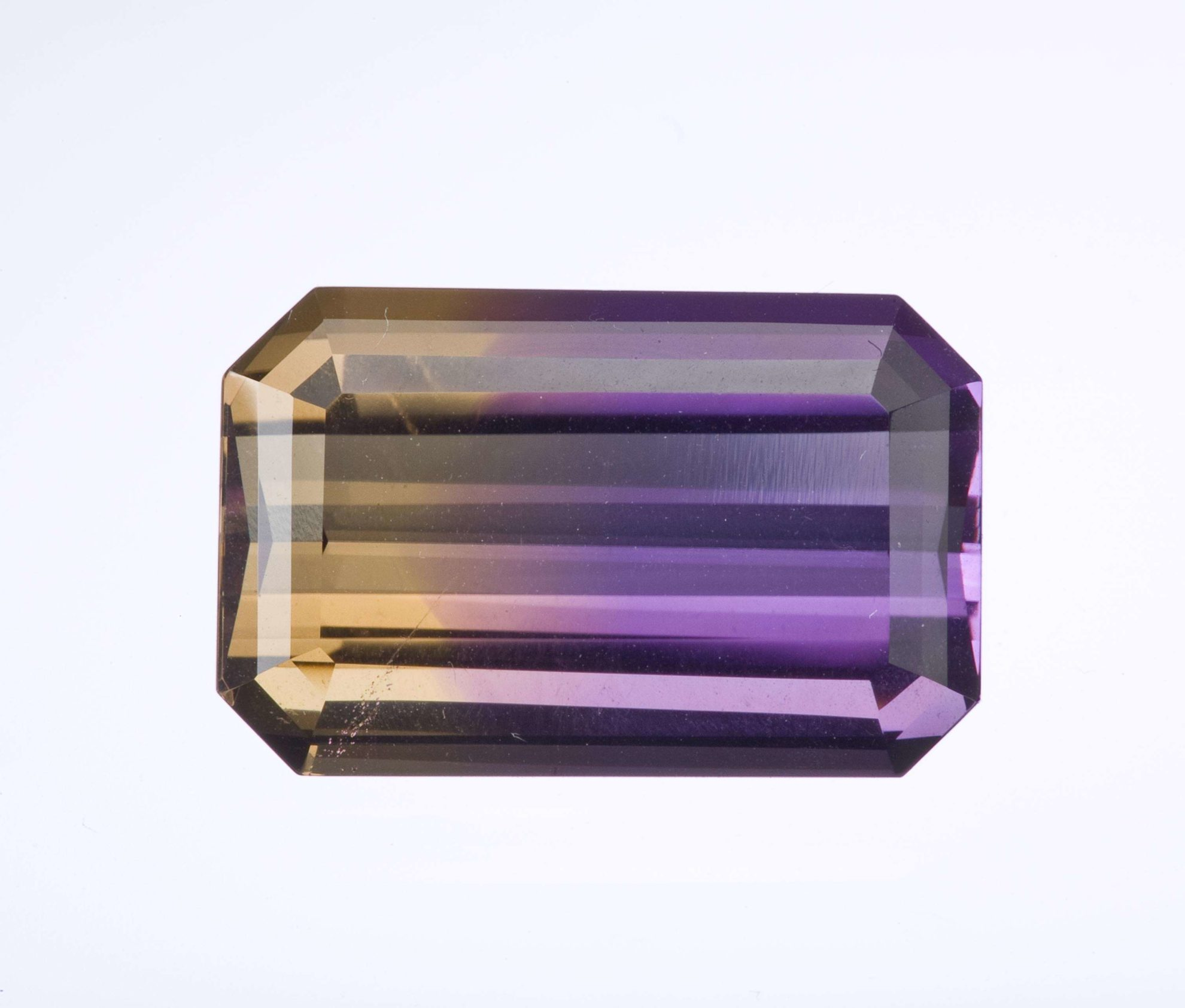 Natural ametrine  gemstonetop quality faceted ametrine loose stonegenuine ametrine for jewelryametrine gem stone 10x14mm