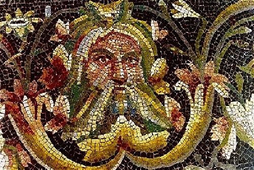 rock artistry - Roman mosaic