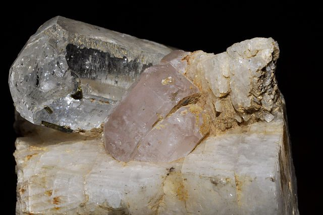 pink apatite - normal light