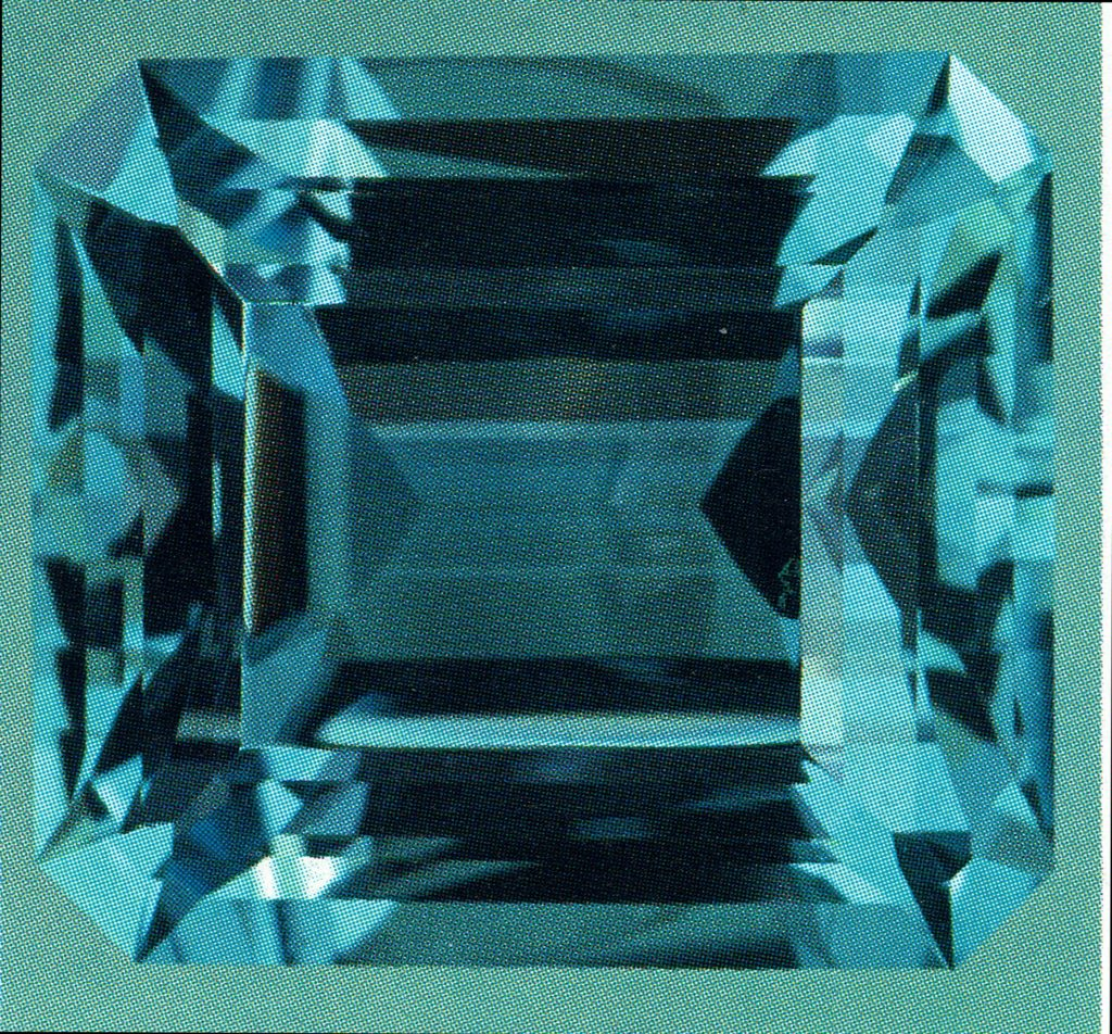 Faceted Aquamarine - Brazil 2