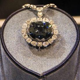 grading colored diamonds - the Hope Diamond