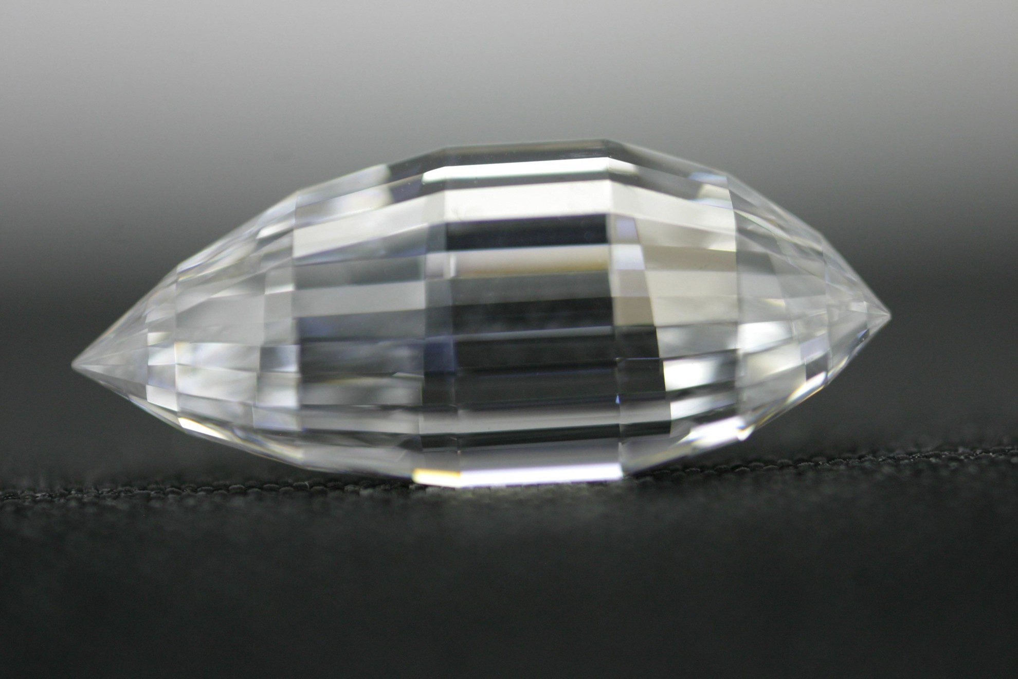 Esperanza Diamond, triolette cut - gem hunting in the US