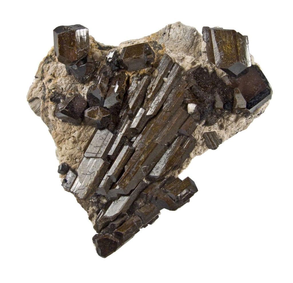 buergerite crystals - Mexico