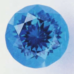 Laserblue synthetic glass