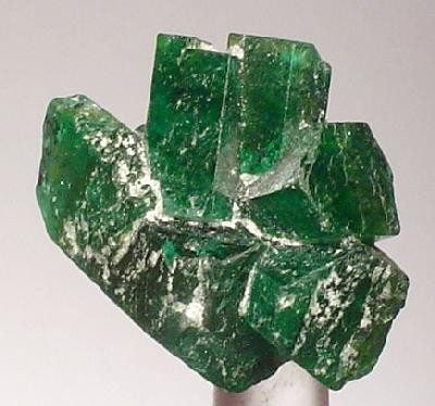 cluster of emeralds - Brazil