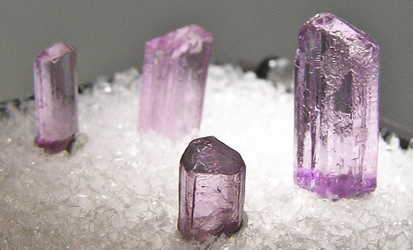 scapolite crystals - China