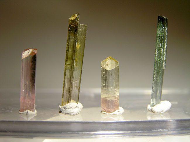 elbaite crystals - Afghanistan
