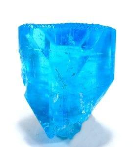 irradiated topaz crystal