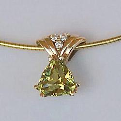 Mali Garnet - Pendant