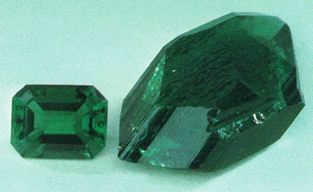 Regency synthetic emeralds