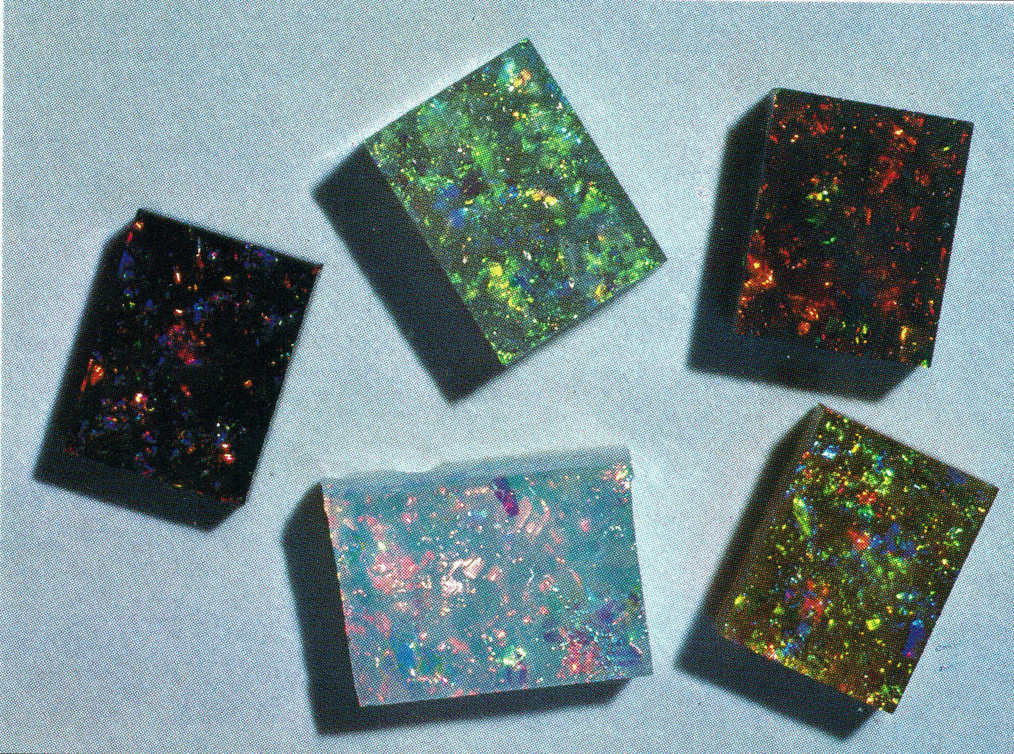 slocum stone - glass gemstones