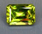 Sphene - Emerald Cut - Madagascar