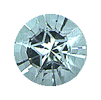 star-cut gemstones - topaz