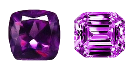 amethyst color - gem grading