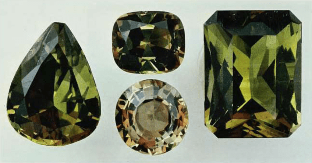 andalusite samples - Brazil