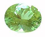 Mereliani, mint green garnet