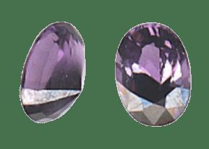 Asymmetrically Cut Gemstone.