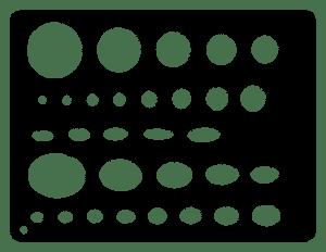 cabochon cutting - template