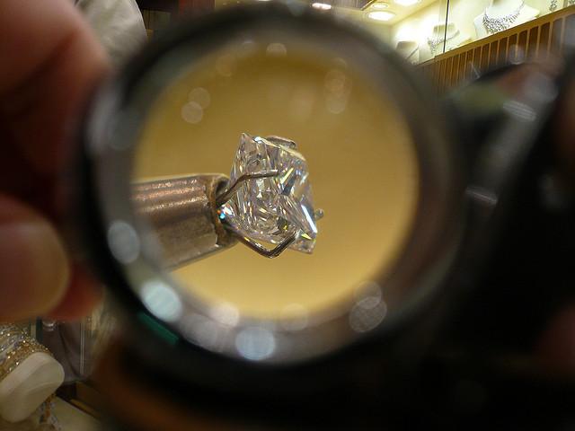 Diamond Loupe Through