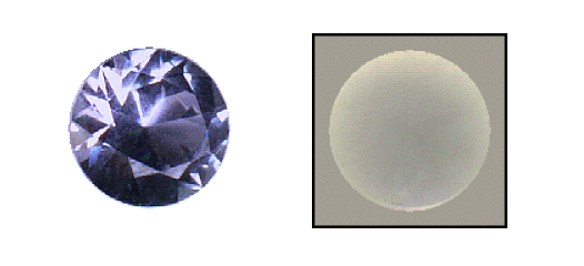 diffusion treated gems - untreated blue sapphire