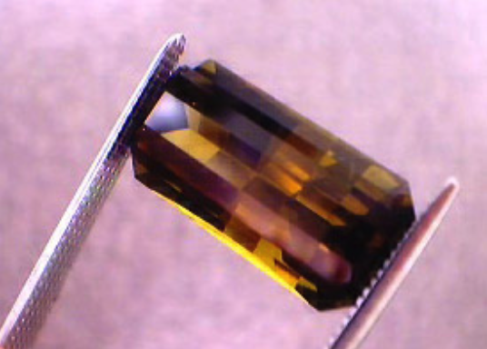emerald cut tourmaline - standard gem sizes