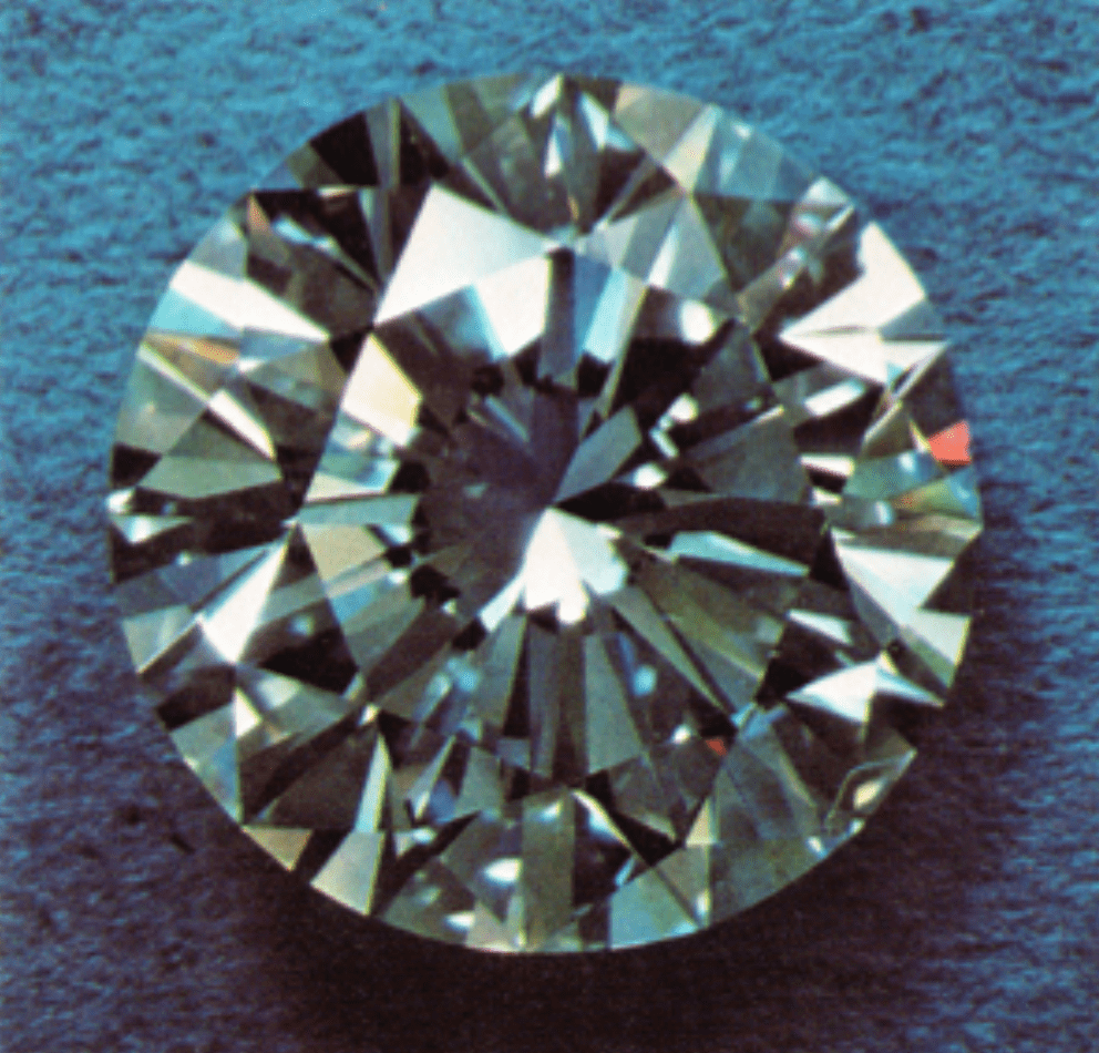 faceted diamond - South Africa - 69