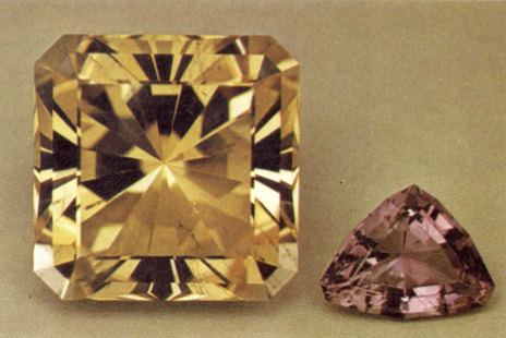 faceted scapolite - Brazil and Kenya