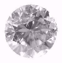 This diamond is graded Excellent on Cut, but is heavily included