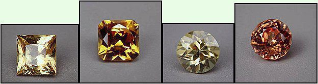 Mali garnets - various colors