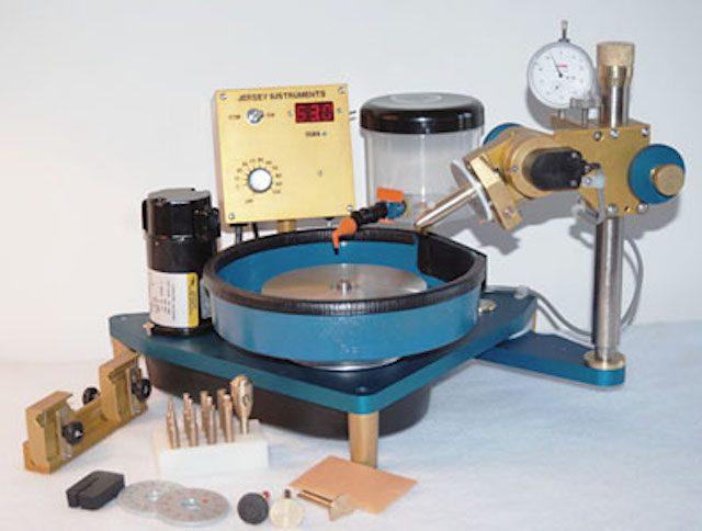 faceting machine features
