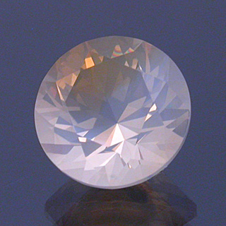 Round Brilliant Opal - gemstone faceting