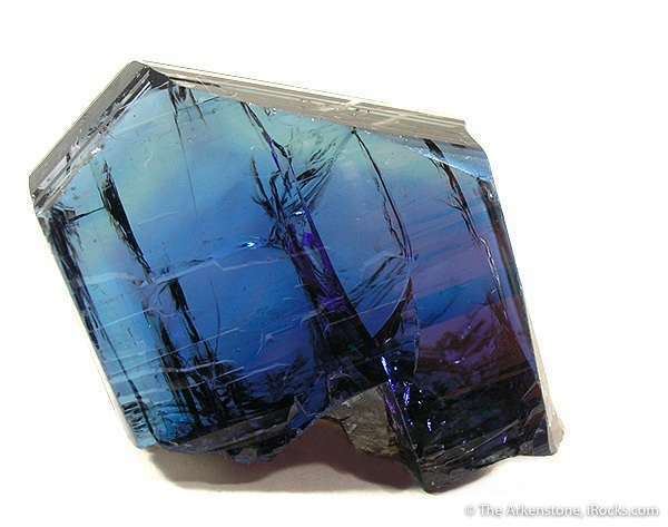 tanzanite crystal - blue