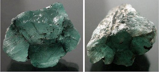 These two trapiche emerald photographs are courtesy of Mr. Farooq Hashmi, Intimate Gems