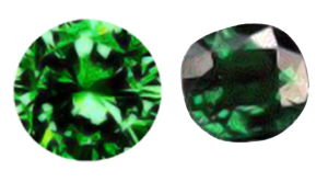 Tsavorite Garnet Brilliance Comparison