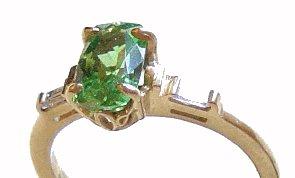 ring - gemstone identification