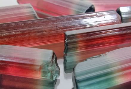 Tri-Color Tourmaline from Nigeria by Daniel Stair of customgemstones.com